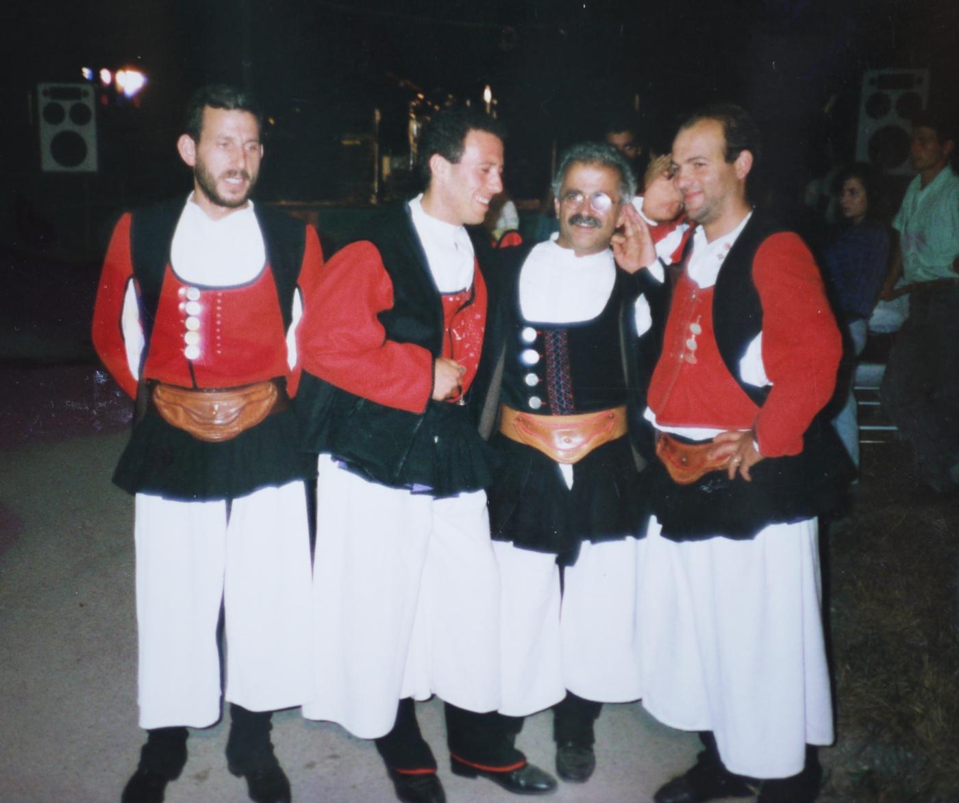 tenores ogliastra 1986