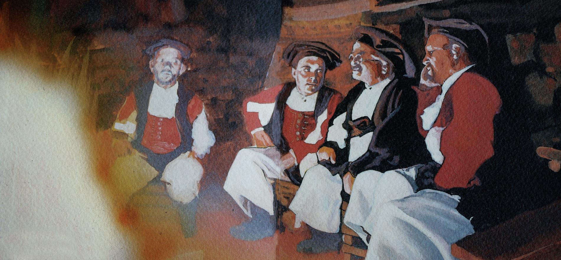 tenores ogliastra illustrazione 1991