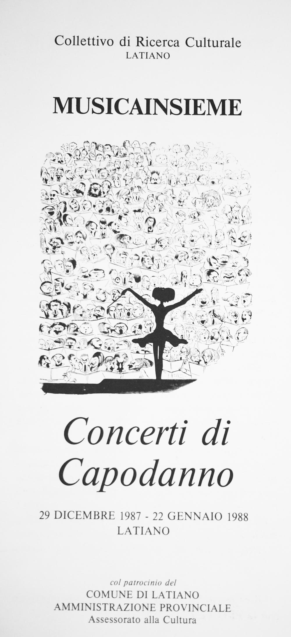 tenores ogliastra locandina Latiano 1987